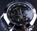 Forsining Blue Pointer Chinese Dragon Element Irregular Shape Mens Designer Watches Luxury Automatic Skeleton Watch Erkek Saat
