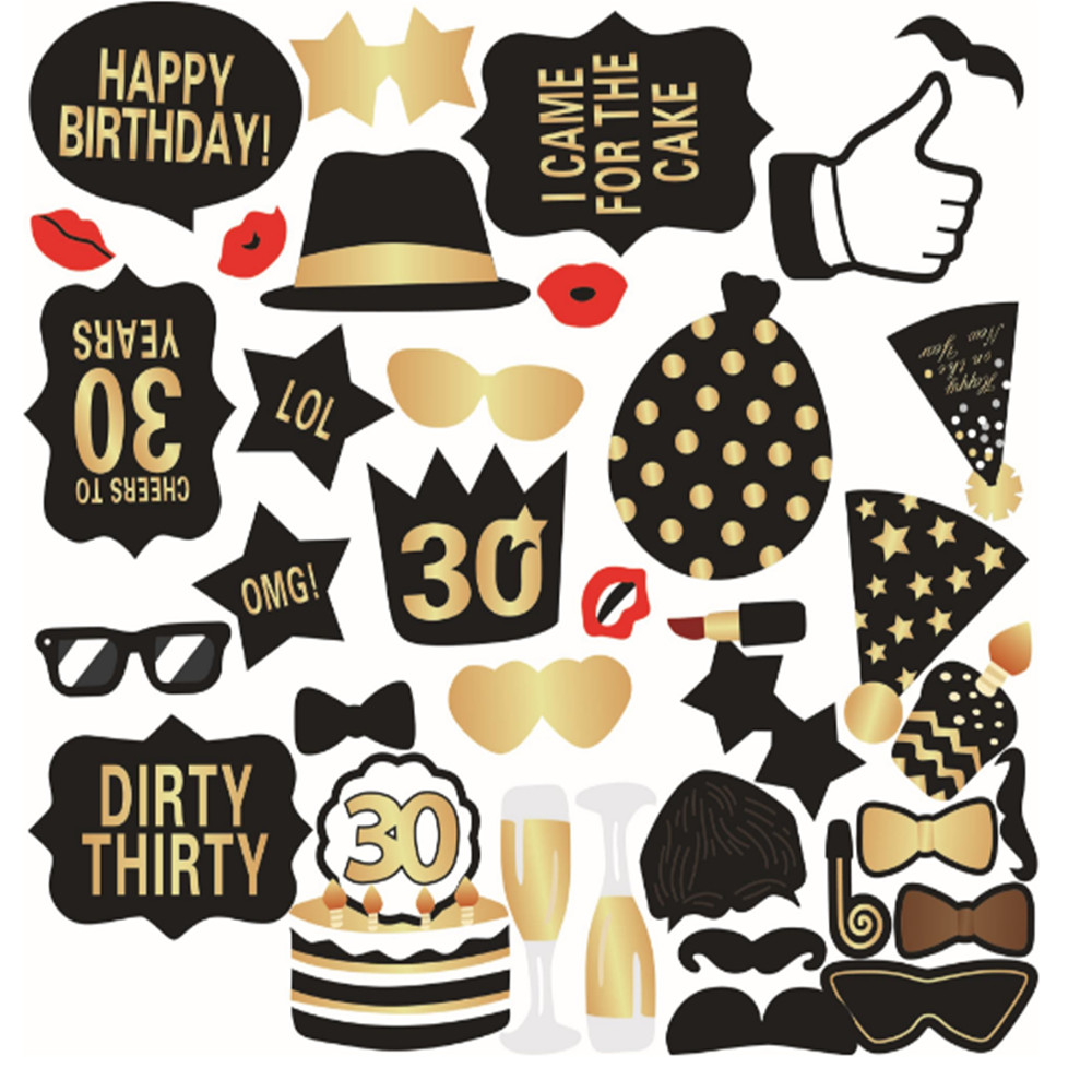 At 40 Party Decorations Compare Prices On 30th Birthday Party Supplies Online Shopping