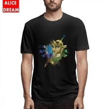 Male Hylian Hero Tee Quality The legend of zelda T-Shirt 100% Cotton Plus Size Camiseta Link Tees