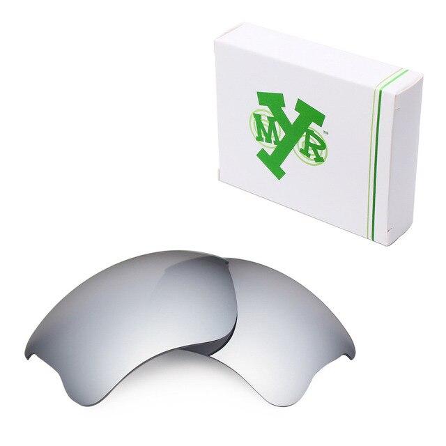 MRY ПОЛЯРИЗОВАННЫЕ на Замену Линзы для Бронежилет Xlj Солнцезащитные Очки Oakley Серебро Титана
