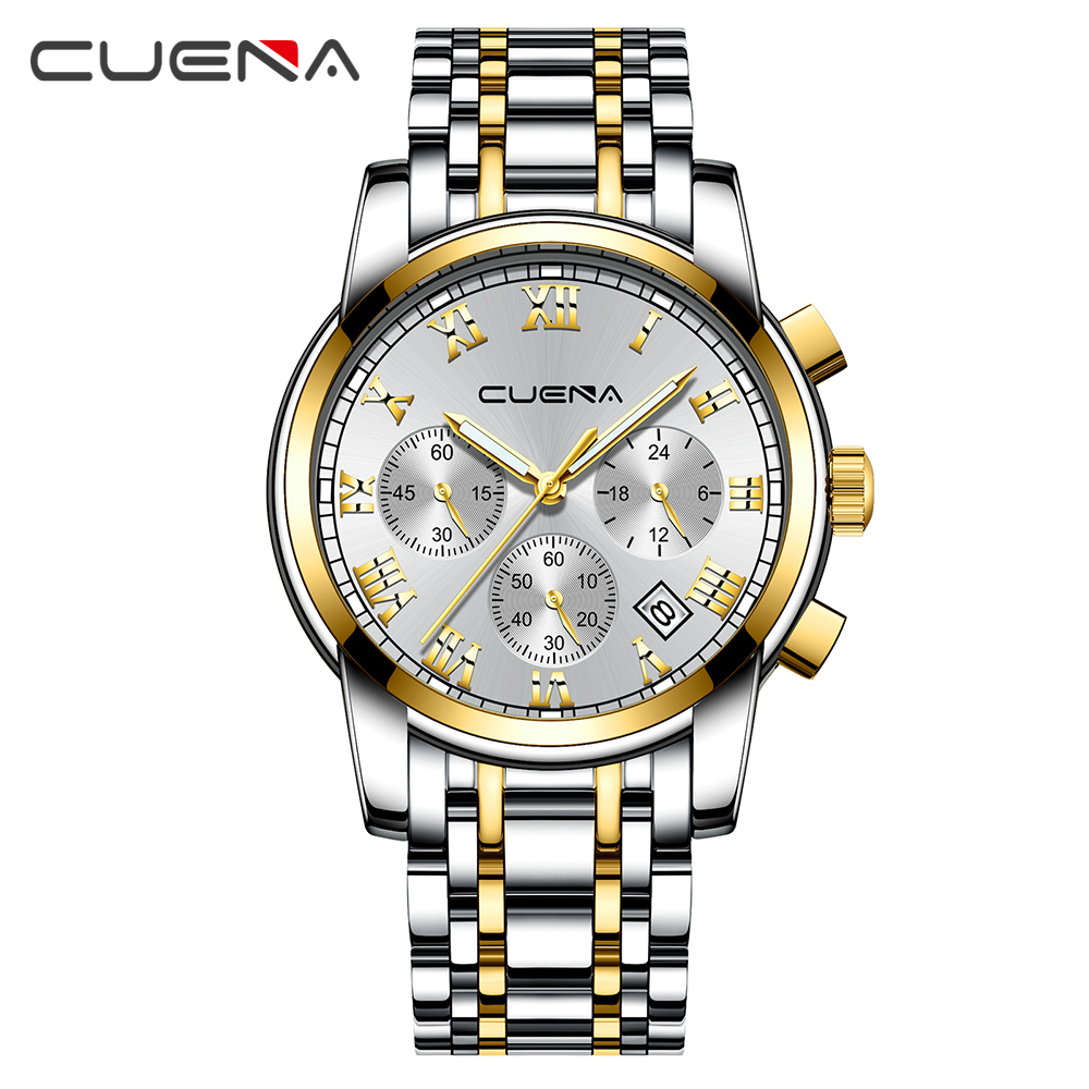 High Quality Quartz Mens Watches Top Brand Luxury Stainless Steel Men Watch Casual Sport Male Clock Watch Relogio Masculino vinoce mens watches top brand luxury high quality full steel quartz watch classic men fashion male clocks relogios masculino page 3