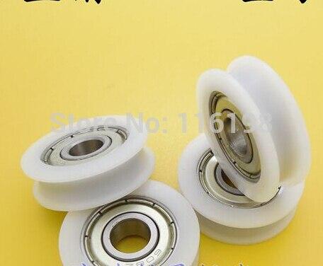 U groove ball bearing 0632UU BU0632 BU0632U window and door bearing 6*32*10mm