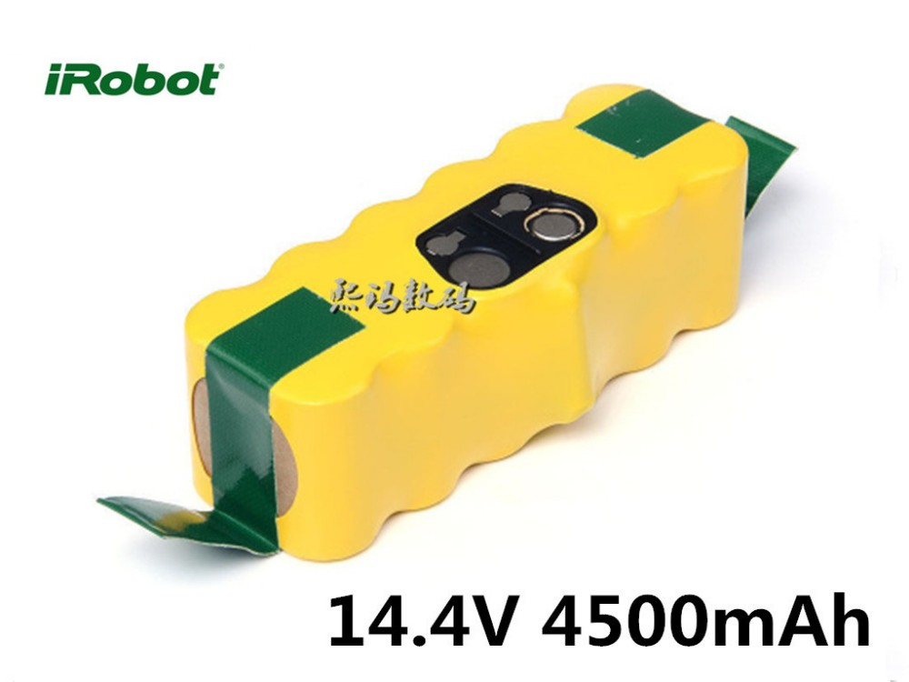 Lot de 2 batteries pour iRobot Roomba 560 14.4V 4500mAh