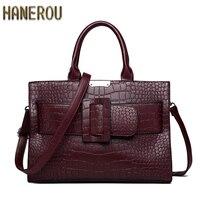 Women Shoulder Bag 2019 Fashion Women Handbags Large Capacity Tote Bag Casual PU Leather Messenger Bag New Ladies Bag Sac A Main