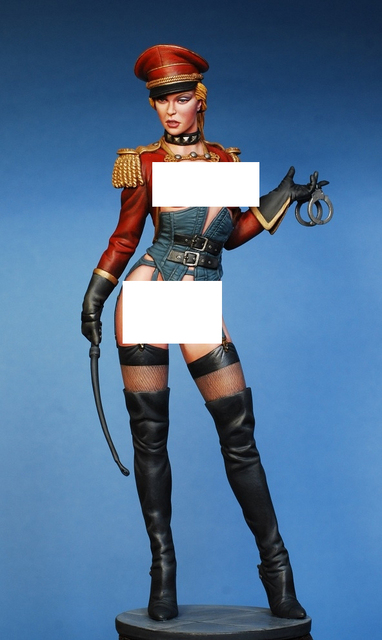 resin assembly  Kits 1/ 9  200mm police girl 200mm Unpainted Kit Resin Model Free Shipping