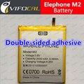 Elephone Bateria M2 100% Original 2600 Mah Bateria de Substituição Para Elephone M2 celular