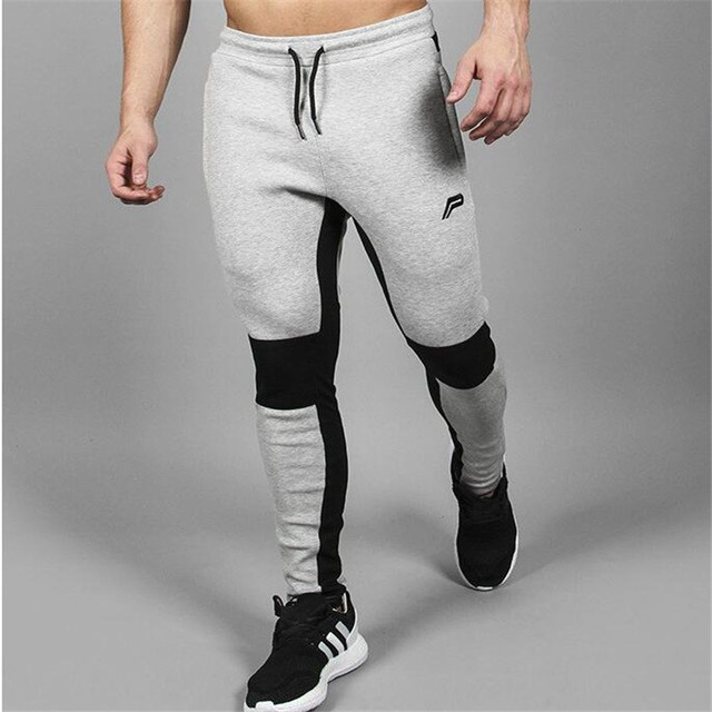 2016 Pantalones Para Hombre Joggers Pantalones De Compresión Chándales Ropa Gymshark Hombres Pantalones Casuales Pantalones Masculinos 50