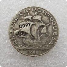 Португалия 5$00 ESCUDOS 1932,1937 копия монет памятные монеты-копии монет медаль коллекционные монеты