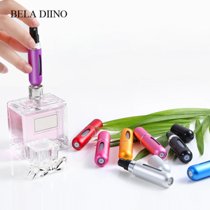Image 3 - 5ML Empty Glass Refillable Pocket Portable Trave Small Mini Perfume Packaging Mist Spray Bottle Dispenser Atomizer Women Male