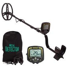 Переносной ЖК-дисплей TX-850 глубина металлоискатель Подземный Золото охотничий фонарь высокая чувствительность