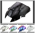 6 Color Aftermarket  Airflow Double Bubble DB PC plastic Motorcycle Windshield Windscreen For 1997-2005 VTR 1000F