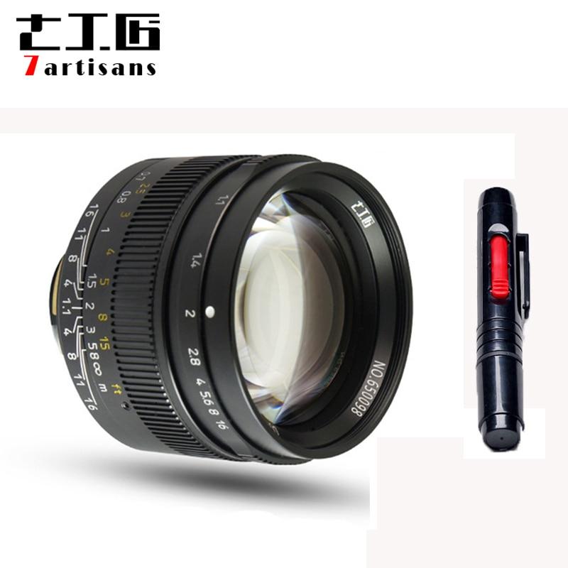 7 artisans 50mm F1.1Large Aperture paraxial M-mount Lens for Leica Cameras M-M M240 M3 M5 M6 M7 M8 M9 M9P M10 Free Shipping original 7artisans 50mm f1 1 m mount fixed lens for leica m mount cameras m m m240 m3 m6 m7 m8 m9 m10