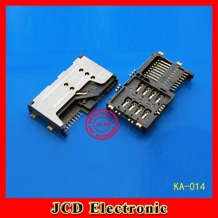 11pcs/lot 3 in 1 New double Booth Card +sim card Holder Slot Tray Reader Slot for Lenovo A60 P700 P700I A789 A65