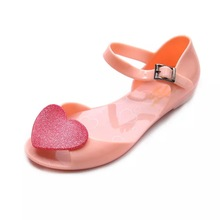 Mini Melissa Girls Princess Jelly Sandals 2019 New Baby Beach Crystal Shoes EU29-35