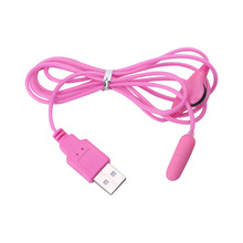 Good Quality USB Mini Bullet Vibrator Masturbator Vibrating Clitoris Stimulator Sex Toys