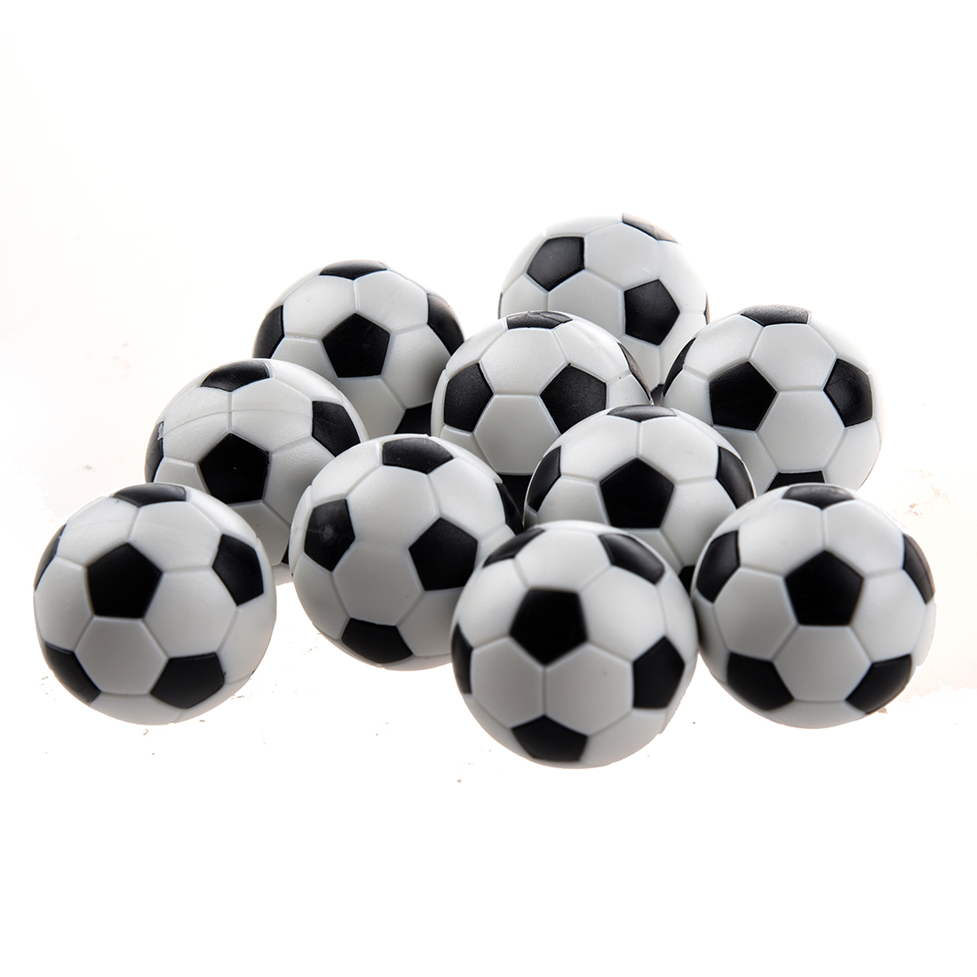 10pcs 32mm Plastic Soccer Table Foosball Ball Football цены