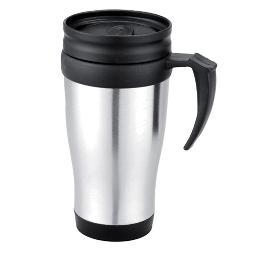 office coffee cups. free shipping 14oz stainless steel coffee cup mug travel office plastic insulated cups