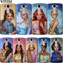 Luxury Princess Snow White Cinderella Aurora Coque Case For LG G6 Q6 Q7 Q8 G7 XPower 2 V30 K7 K8 K10 2017 2018 XScreen Etui