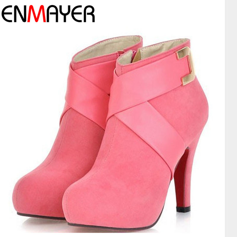 Online Get Cheap Pink Ankle Boots -Aliexpress.com | Alibaba Group