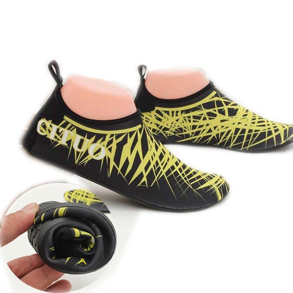 Hombres Mujeres zapatos de buceo Snorkeling neopreno calcetines de buceo Wetsuit Prevent Scratche antideslizante Swim playa zapatos