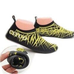 Homens mulher sapatos de mergulho botas de mergulho neoprene meias de mergulho wetsuit evitar scratche antiderrapante nadar sapatos de praia à beira-mar