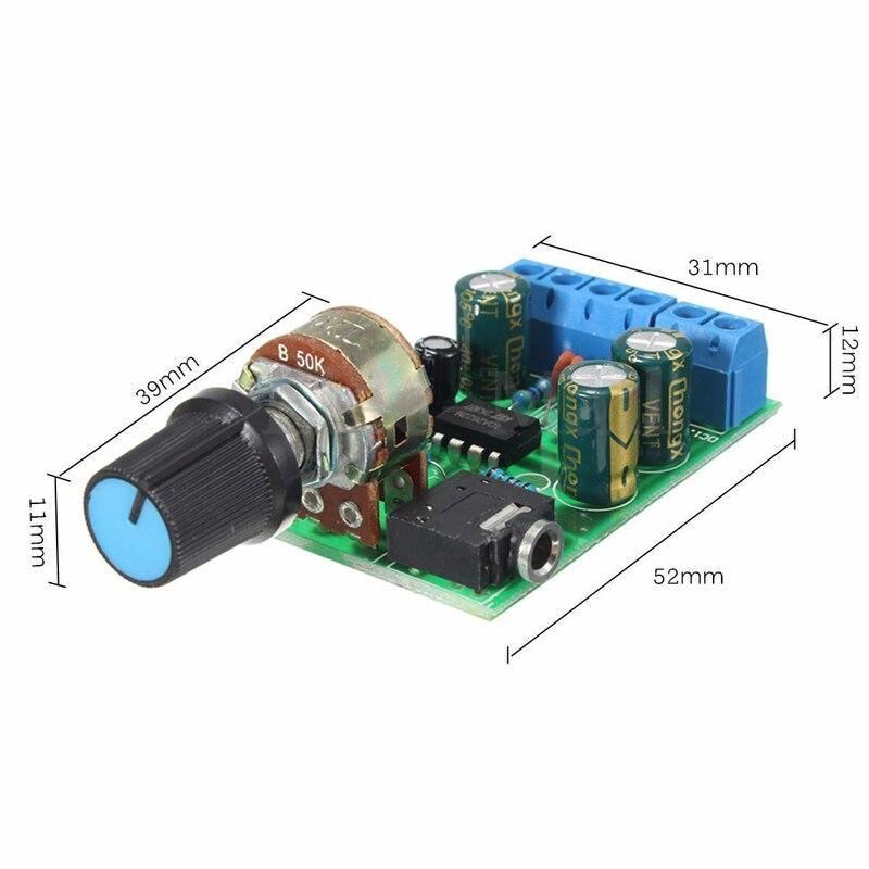 Arcade 2.0 stereo garso stiprintuvo plokštė Dual Channel AUX - Pramogos - Nuotrauka 5