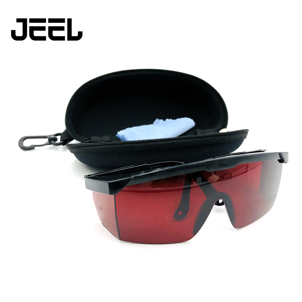 New Eye Safety Red Glasses For190nm To 540nm Laser Industrial Protective Goggles Laser Protection Glasses