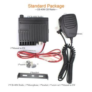 Image 5 - Ультракомпактное радио AM FM, мини радио Mobie CB, 25,615 30,105 МГц, 10 м, Любительская Автомобильная радиостанция, радиоприемник «Citizen Band», «Радио», «CB 40M»