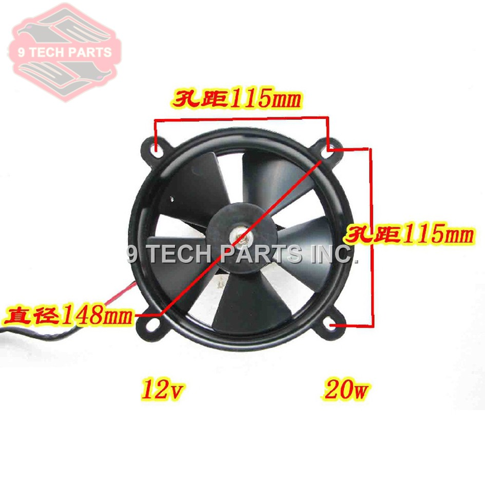US $18 71 5% OFF|Universal Modified Motorcycle parts Dirt Pit Bike ATV Quad  ZONGSHEN LIFAN Oil Cooler Water Cooler Radiator Electric Cooling Fan-in