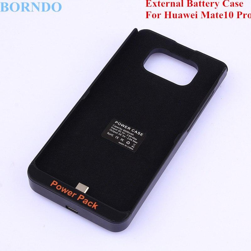 BORNDO 6600mAh External Backup Battery Charger Case