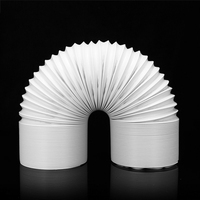 Flexible And Durable 3Meters Exhaust Hose Removable Air Conditioner Portable Flexible White