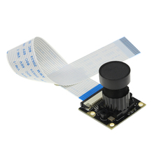 Big discount Raspberry Pi 3 Camera Focal Adjustable Night Vision 5 Megapixel Camera Module Support Raspberry Pi 2/3 Model B +