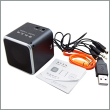Original Music Angel JH-MD06BT2 TF card Bluetooth vibration speaker Mini Music Sound Box Amplifier colorful