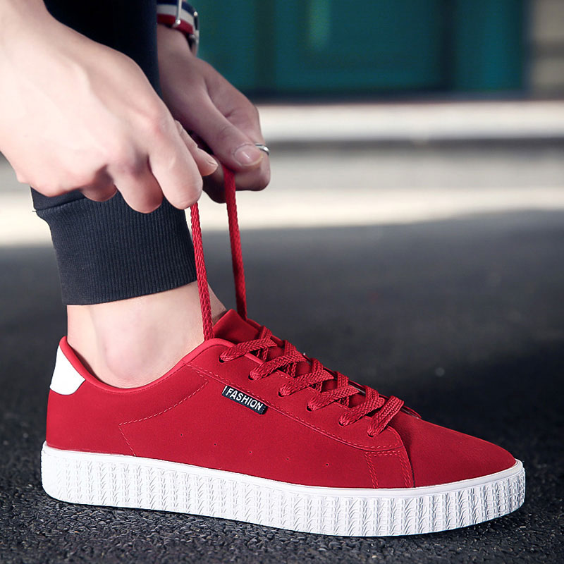 Men Casual Shoes Autumn And Spring New Arrival Lace up Low Style Leisure Fashion Youth Shoes