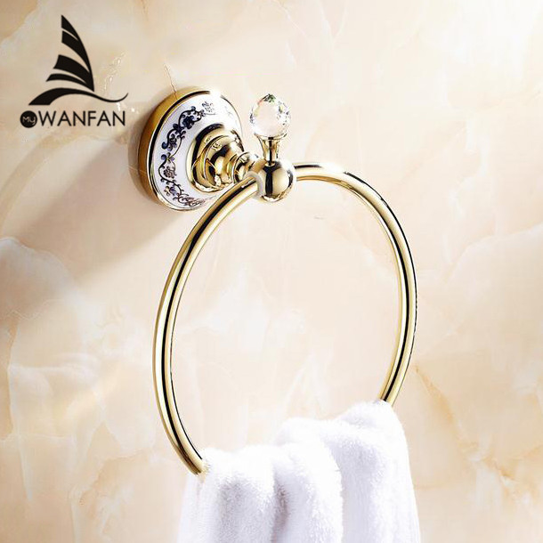 Towel Rings Solid Brass Chrome Gold Finished Towel Ring Towel Holder