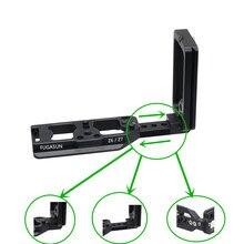 Z6 Z6 II Z7 Z7 II 수직 촬영 핸드 그립 퀵 릴리스 Z6 Z6 II Z7 Z7 II L 니콘 Z7 II Z6 II 용 플레이트 카메라 브래킷 홀더