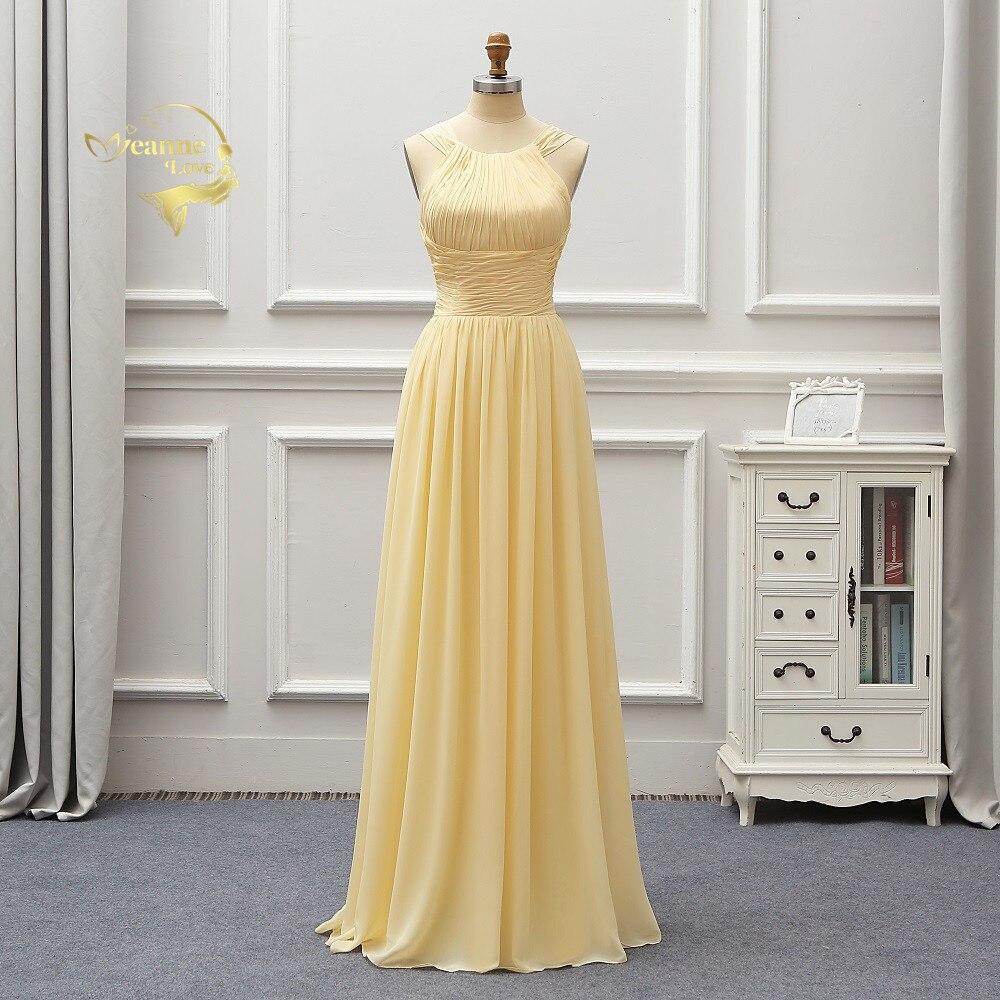 Robe De Soiree Halter Long Prom Dresses 2020 Weddings Bride Dresses Sleeveless Formal Gown Vestidos De Fiesta Largos Long Dress