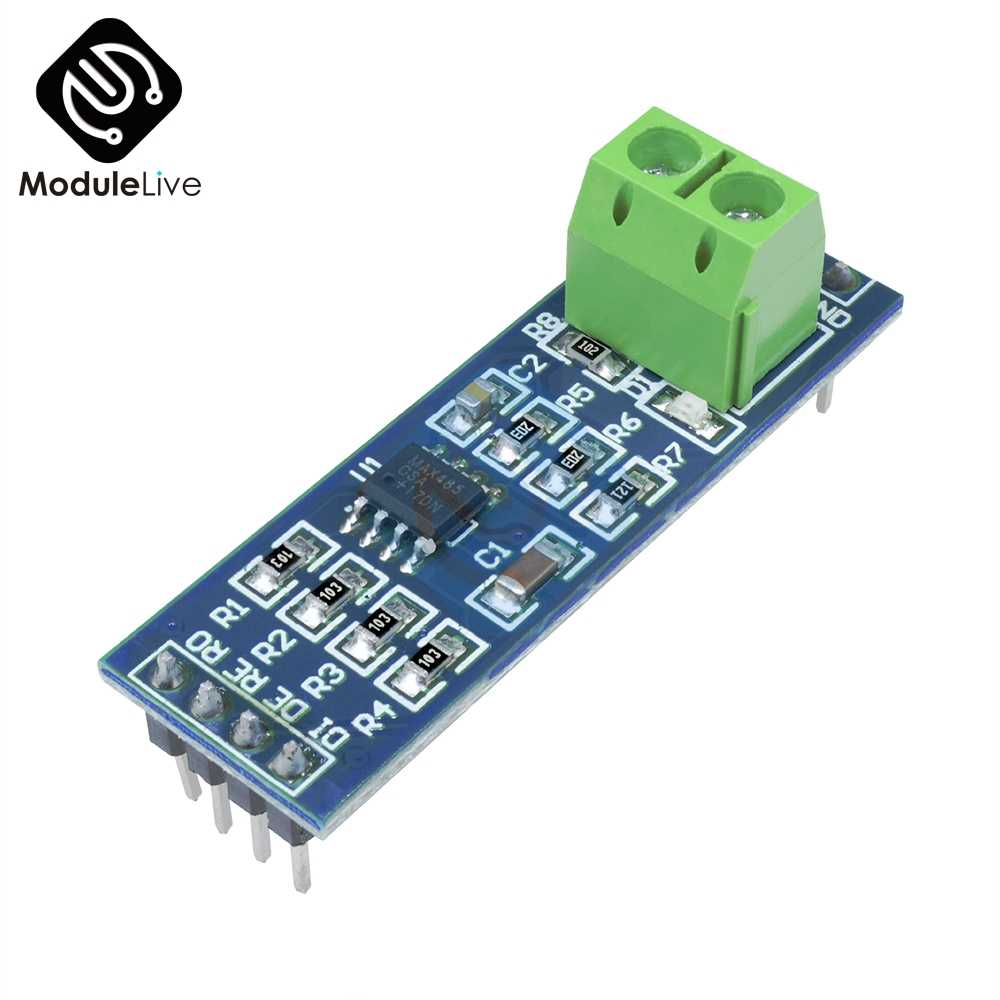 MAX485 RS-485  MAX485CSA TTL Turn To RS485 Converter Module Board For Arduino Microcontroller MCU Development Accessories