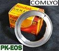 Hot COMLYO adaptador de Lente AF Confirme para Pentax PK para Canon 600D 60D EOS EF Adaptador de Montagem com um eletrônico 1100 Acessórios Da Câmera