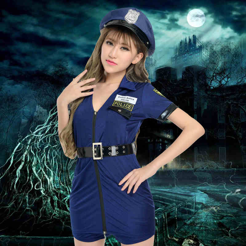 Plus Size Sexy Cop Costume