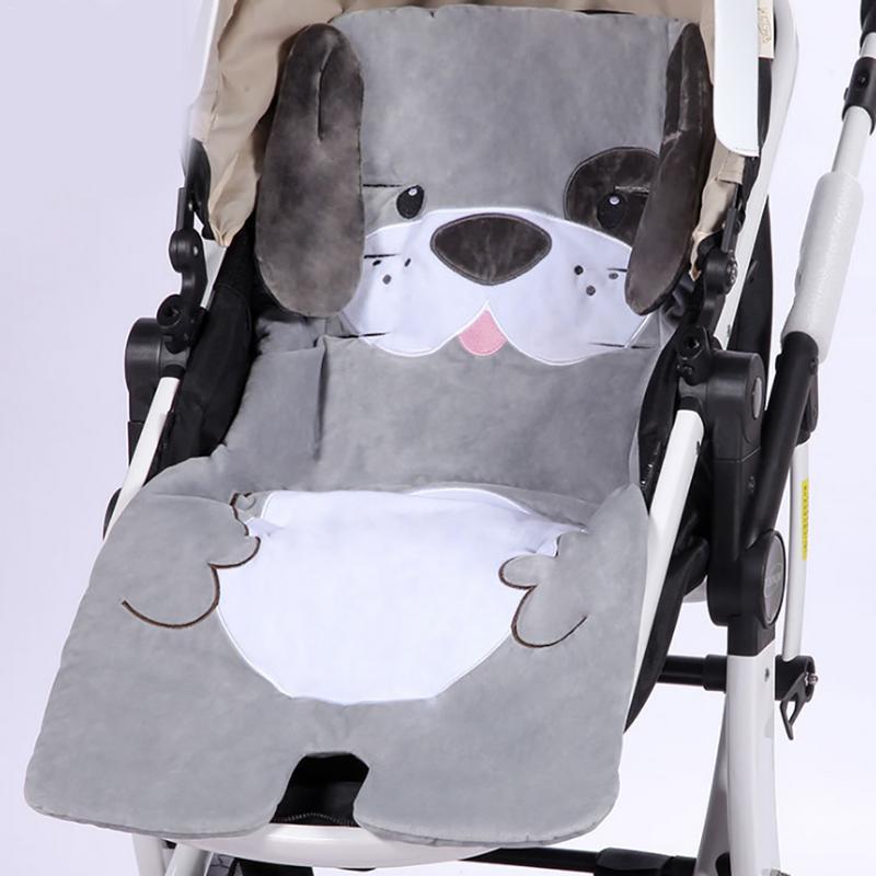 Thick Baby stroller mat cushion Cartoon infant Seat Padding Baby Pram Liner Pad Cushion Stroller Accessory Seat Pad Mattress S3