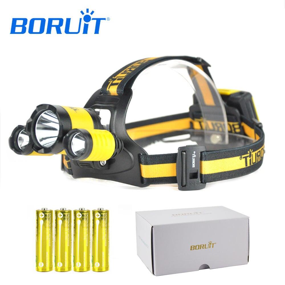 BORUIT Led Headlight Rechargeable Headlamp Flashlight Head Torch Lantern XML L2+2R5 Camping Fishing Lamp Equipment Accessories sitemap 17 xml