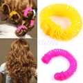 U119 6pcs 8pcs Hairdress Magic Bendy Hair Styling Roller Curler Spiral Curls DIY Tool