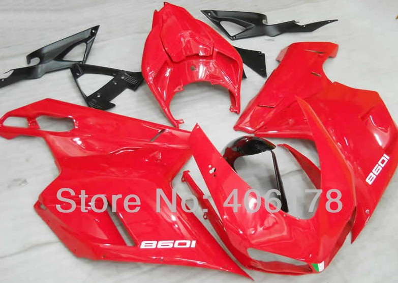 Hot Sales,1098 07 08 09 Body Fairing Kit For Ducati 1098 2007 2008 2009 2010 2011 Red Motorcycle Fairings (Injection molding) car rear trunk security shield cargo cover for jeep compass 2007 2008 2009 2010 2011 high qualit auto accessories