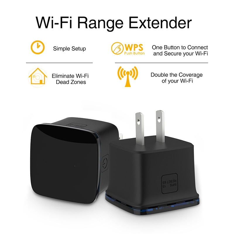 LEORY Mini Wifi Repeater/Router/Acess Point A P 300Mbps Wifi Signal 802.11N 300Mbps Wireless Repeater