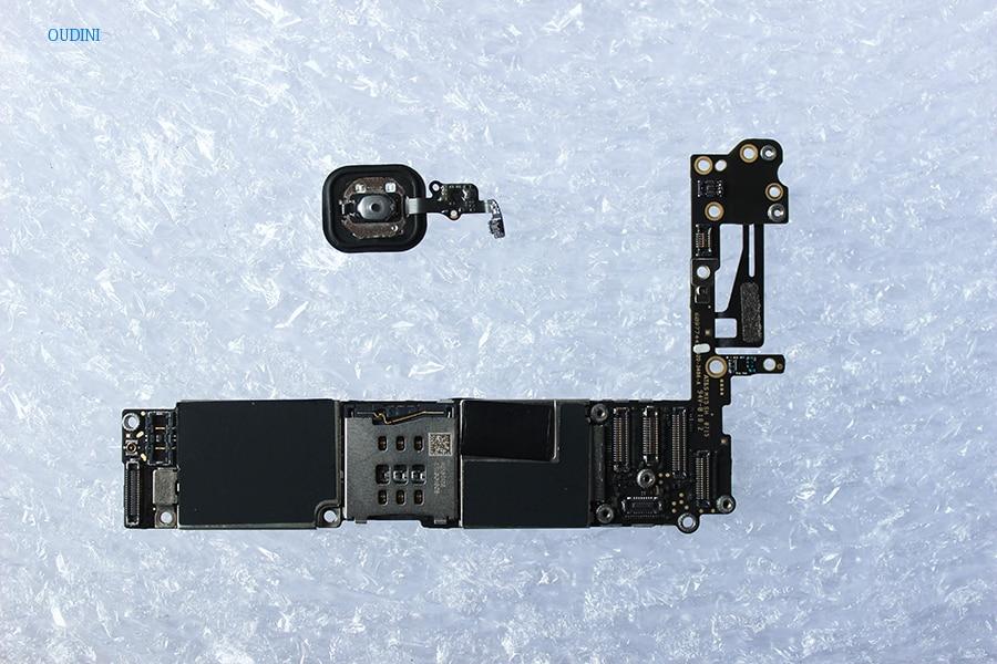 Oudini DÉBLOQUÉ 32 gb pour iphone 6 Carte Mère avec Tactile ID, Débloqué Original pour iphone 6 Carte Mère ont D'empreintes Digitales 100% test