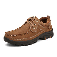 Nice New Arrival Men Boat Shoes Genuine Leather High Quality Calssic Men Handmade Sewing Business Casual Shoes