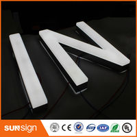 Wholesale Business Signs Acrylic Storefront Led Letter Lights