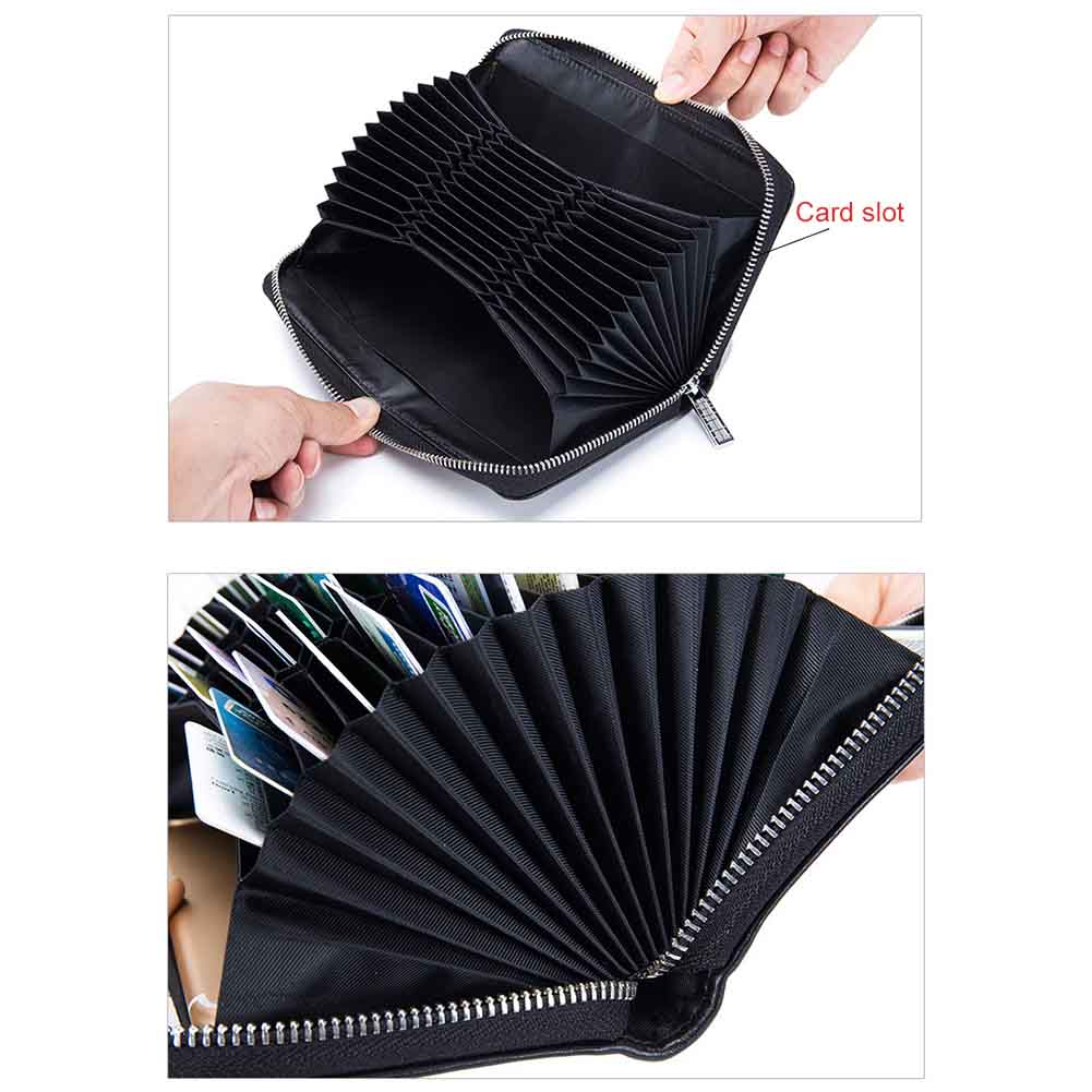 Women 36 Card Holder Credit RFID Card Case Wallet Auto Car Document Passport Cover Purse New