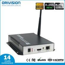 H265 H264 HDMI wifi видео кодировщик HDMI к ip потокового кодировщика, поддержка Youtube, Facebook, wowaz